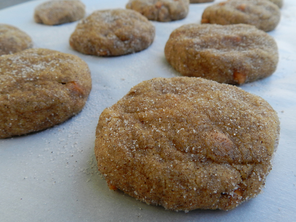 Pumpkin Butterscotch Snickerdoodles