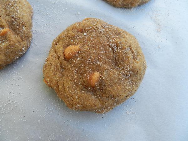 Pumpkin Butterscotch Snickerdoodles