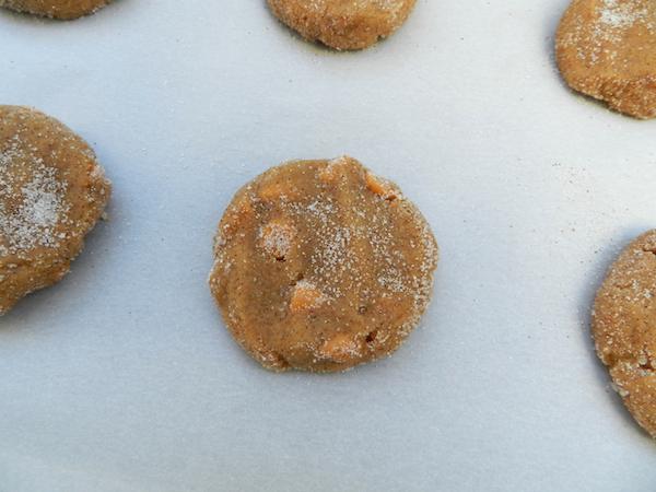 pumpkin butterscotch snickerdoodles I Pretty Little Pastimes