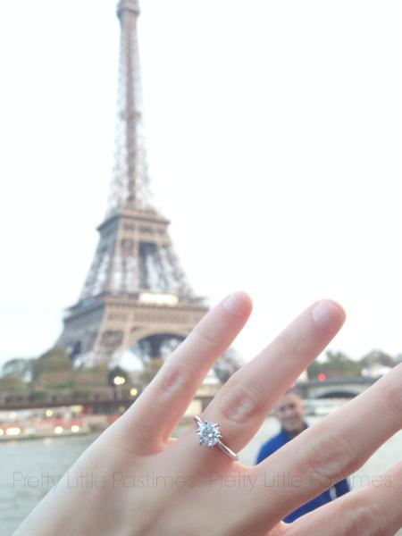 Engaged in Paris!