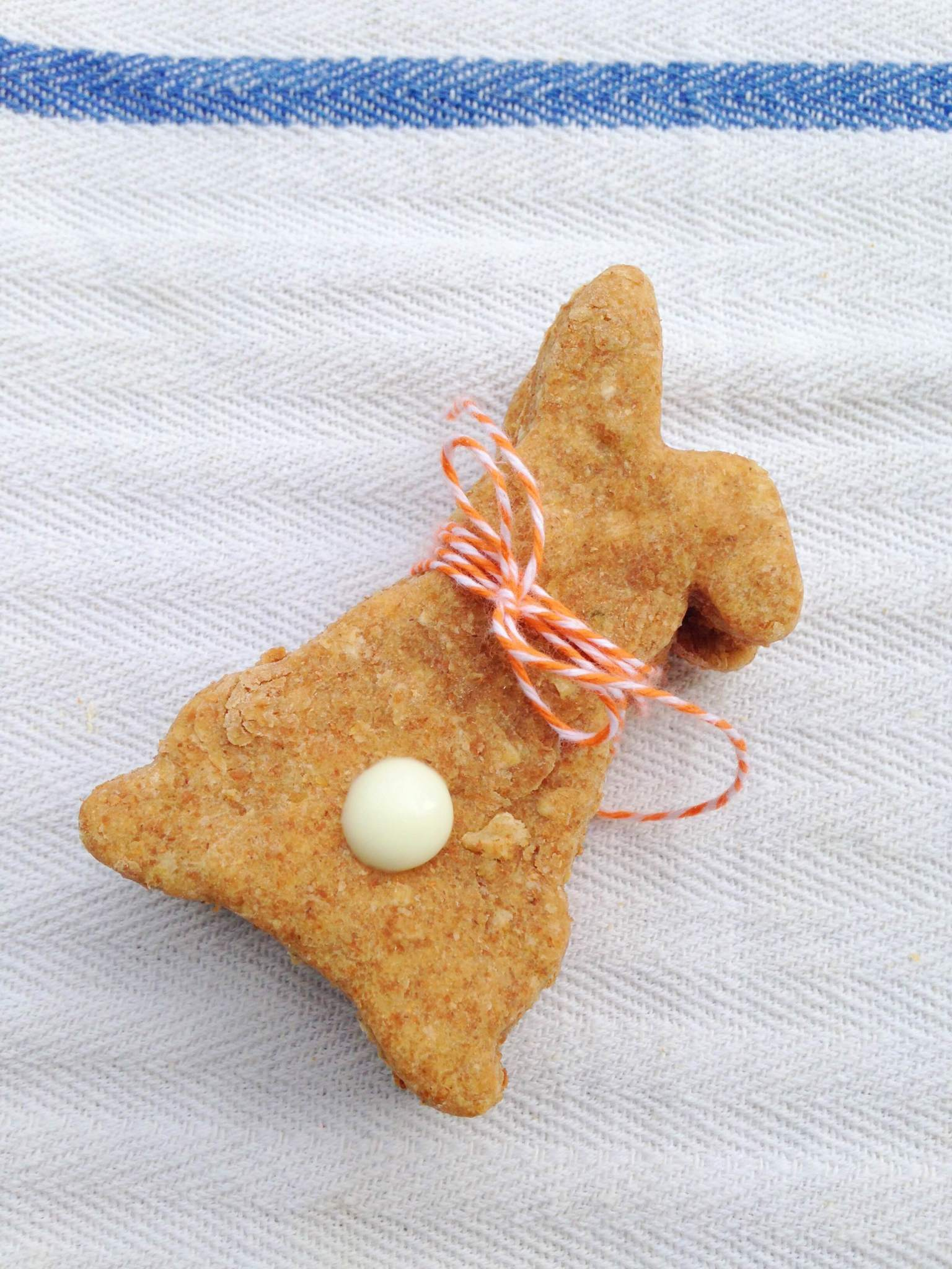 Easter Bunny Dog Treats | Pretty Little Pastimes